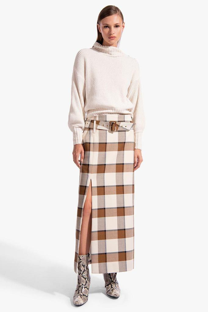 SIMONE SKIRT | LIGHT PLAID