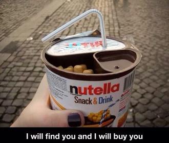 nutella heaven chocolate aghhhh love