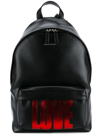 love backpack black bag