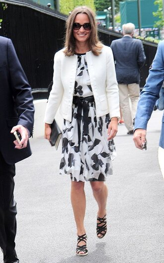 shoes dress jacket pippa middleton