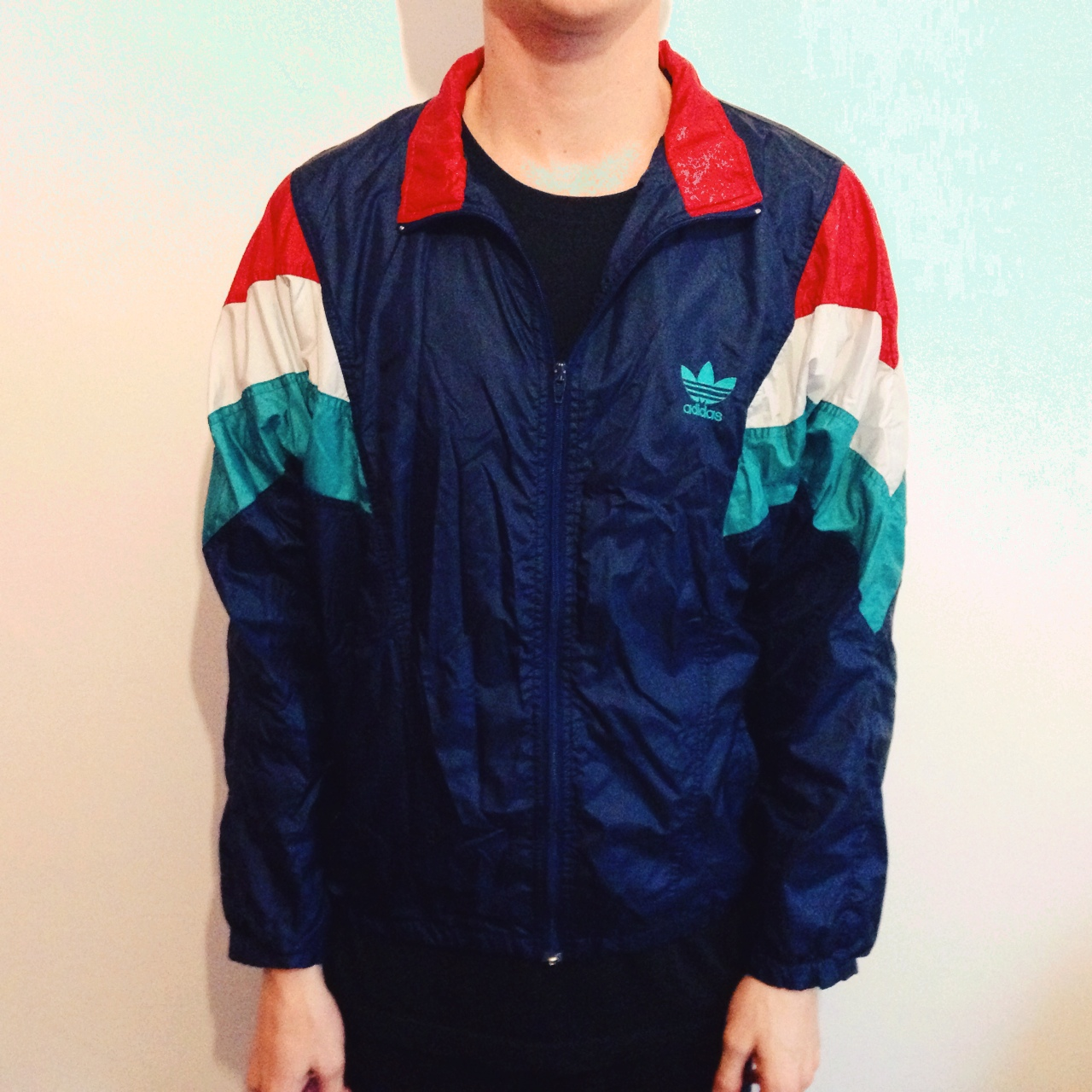 6a597a02f407 Vintage adidas shell tracksuit jacket. Unisex. Doesn t have a size ...