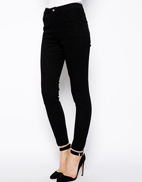 ASOS | ASOS Ankle Grazer Trousers in Black at ASOS