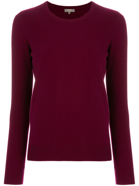 N.Peal sweater women red