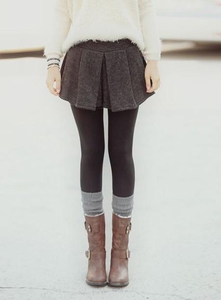 Skirt And Socks 69