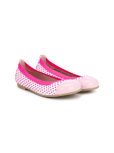 Pretty Ballerinas Kids shoes leather purple pink