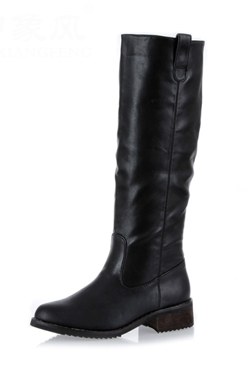 Chic Knee-high Boot [FABI1277]- US$86.99 - PersunMall.com