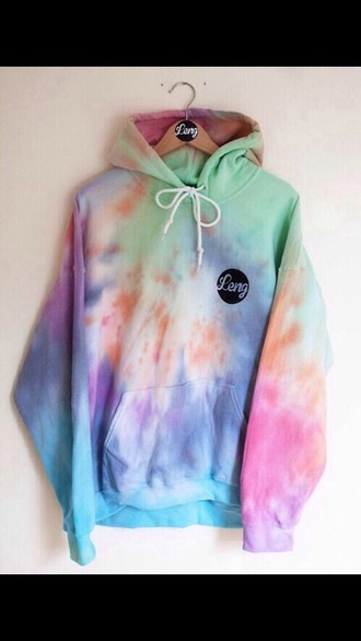 sweater tye dye leng