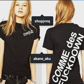 t-shirt,comme des fuckdown,fashion,fashionista,Akane_Aku