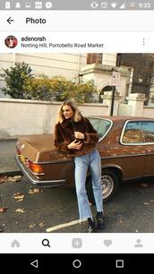 jacket,vintage,brown fur jacket,fur jacket,winter outfits,faux fur,sheepskin,shearling,shearling jacket