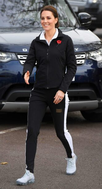 sweater sweatshirt sweatpants sneakers kate middleton fall outfits jacket sportswear pants