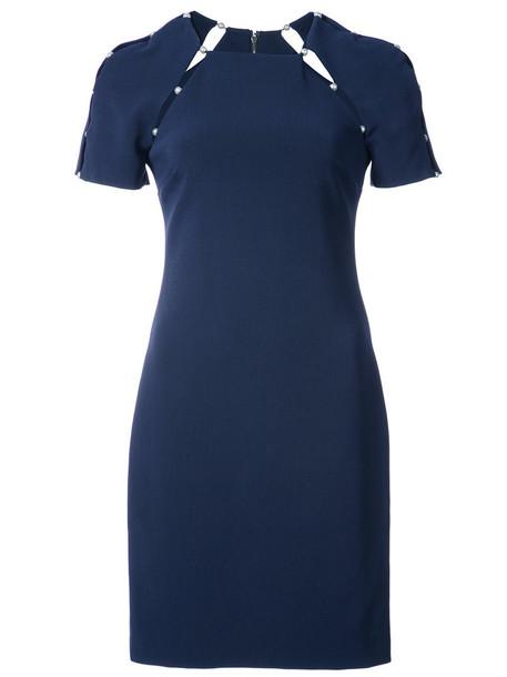 Alice+Olivia dress women spandex blue