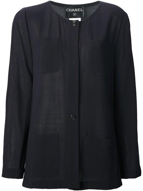 skirt 1990s skirt and blouse blouse black navy wool