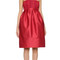 Zac posen strapless dress - cardinal red