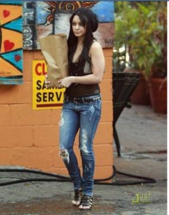 shoes shirt jeans de vanessa hudgens denim