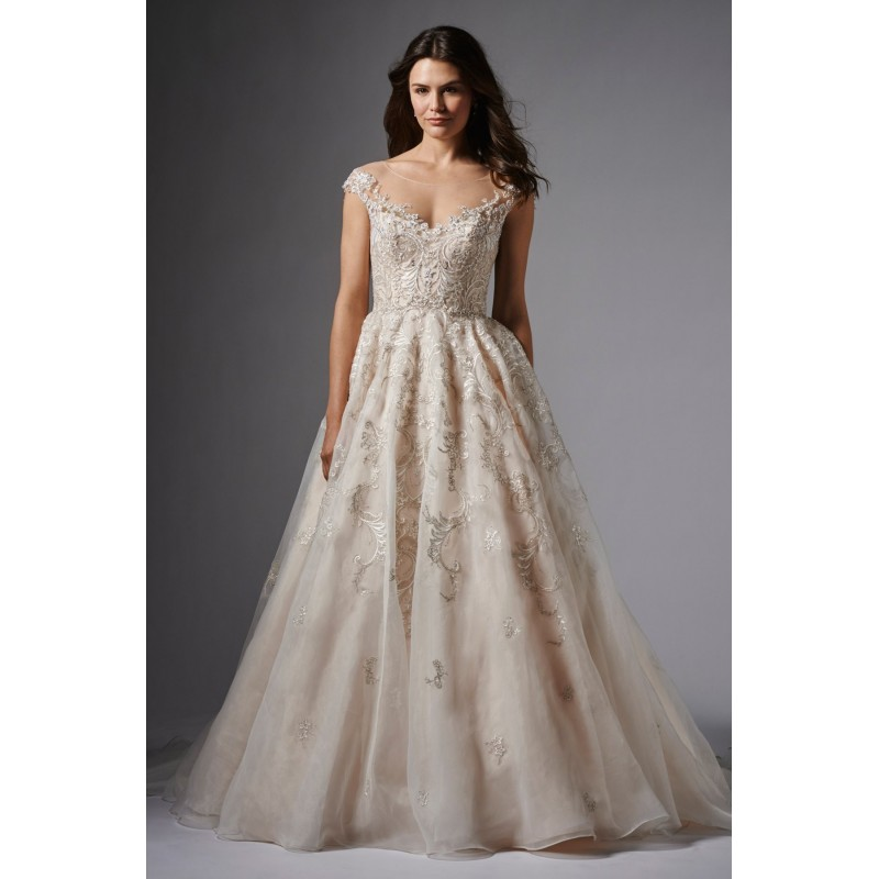 Wtoo by Watters Audrey 15025 Embroidered Ball Gown Wedding Dress - Crazy Sale Bridal Dresses Special Wedding Dresses Unique 2017 New Style Dresses