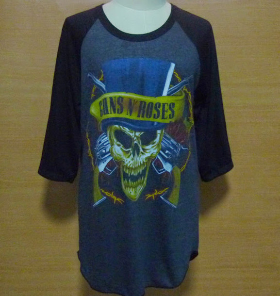 baseball tee skull t-shirt punk rock mens t-shirt mens shirt t-shirt