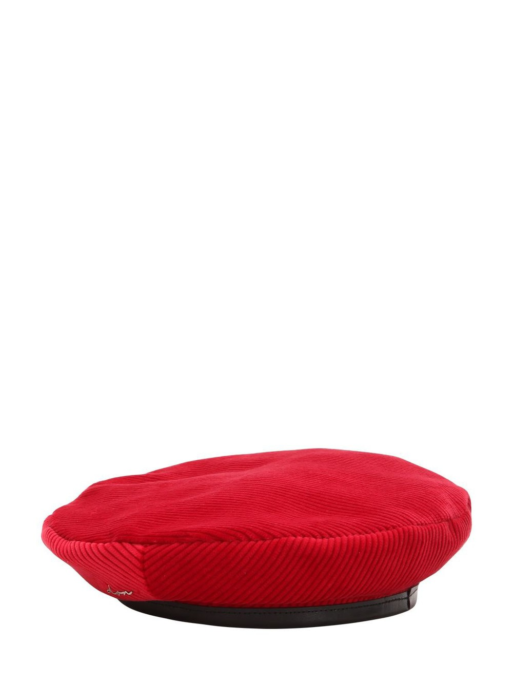 DON Corduroy Beret in red