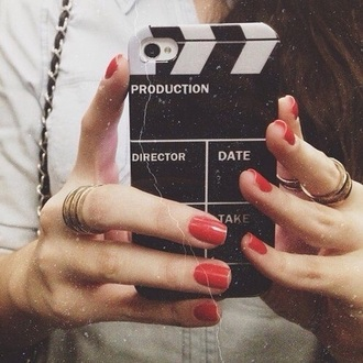 phone cover directing black white tumblr cute cool movies