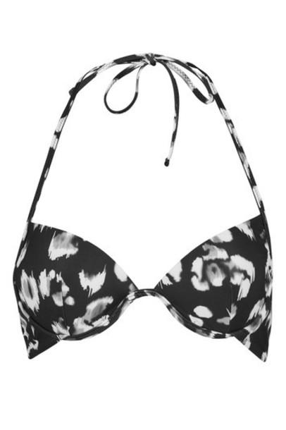 Topshop bikini bikini top monochrome swimwear