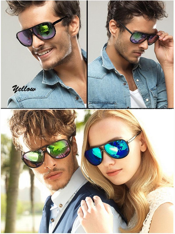 Aviator Classic Retro Sunglasses 70s Vintage Mens Womens Shade Pilot Cop Glasses | eBay