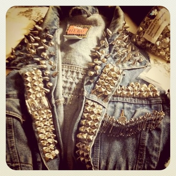 studded denim studded denim jacket jacket denim vintage hero studded jacket studds jeans jacket light blue