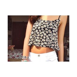 jewels sunflower white cute fashion