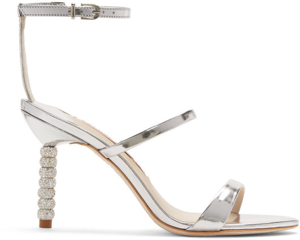 Sophia Webster metallic sandals silver shoes