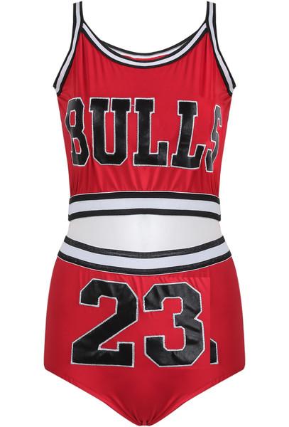 Bulls 2 Piece Set   Outfit Made