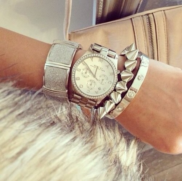 jewels watch silvet
