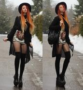 shoes,grunge,goth,nu goth,platform boots,platform shoes,boots,hipster,pirate boots,cardigan,skirt,hat,short,white skirt