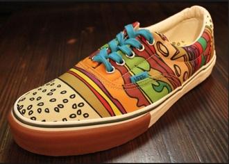 shoes vans cobrasnake cobra snake sneakers burger hamburger cool