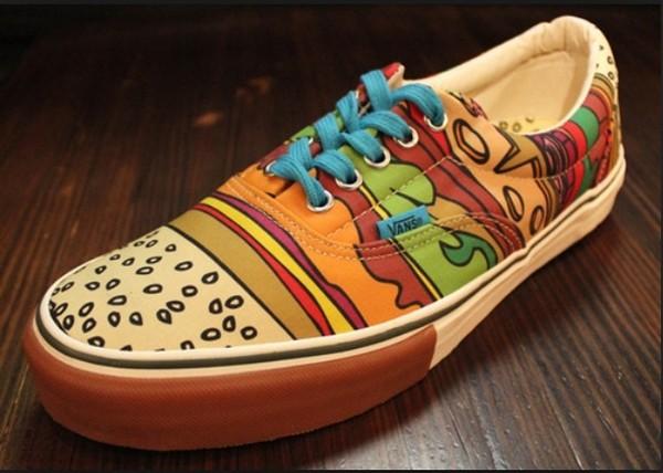 shoes vans cobrasnake cobra snake sneakers hamburger hamburger cool