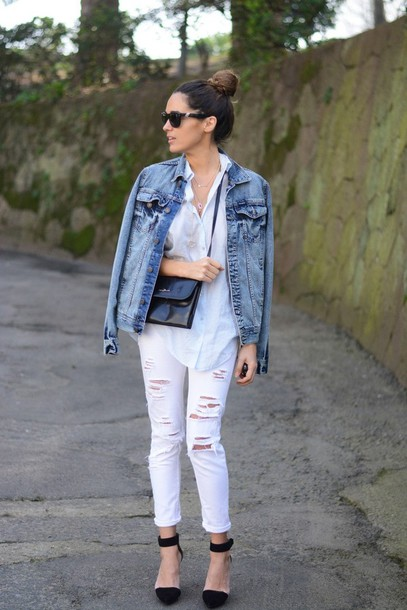 stella wants to die jeans shirt jacket shoes jewels