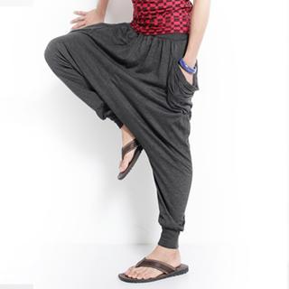 Harem Pants, Black , One Size - OBI YUAN | YESSTYLE Canada
