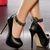 ref: E9679-40 Escarpins taille:40 couleur:Noir