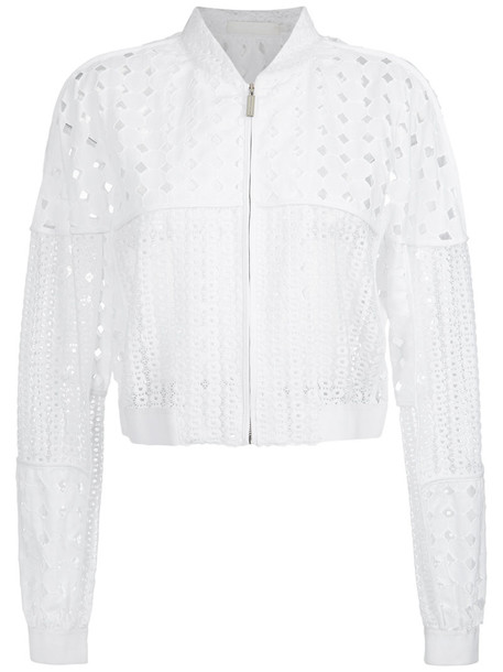 Giuliana Romanno jacket women lace cotton