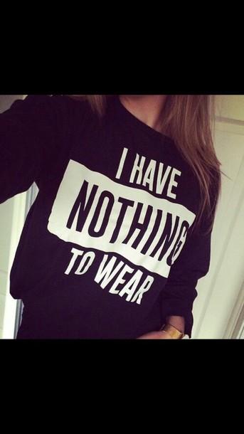top sweater black sweater shirt