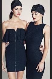 dress,kendall jenner,kendall and kylie,kardashians,little black dress,zipper dress,jewels,blouse