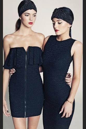 dress kendall jenner kendall and kylie kardashians little black dress zipper dress jewels blouse