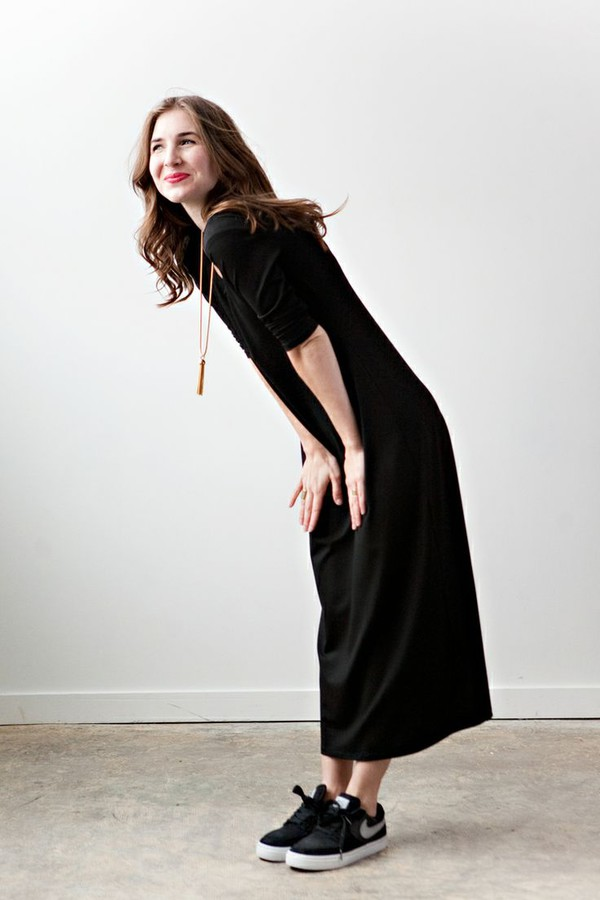 clothes fashion black shoes