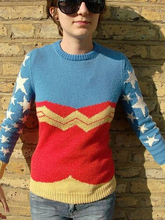 sweater wonder woman
