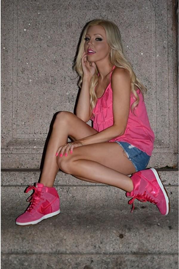 shoes blouse