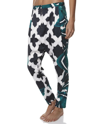CAMEO LOST AT HEART PANT -SO- - MOROCCAN LEAF