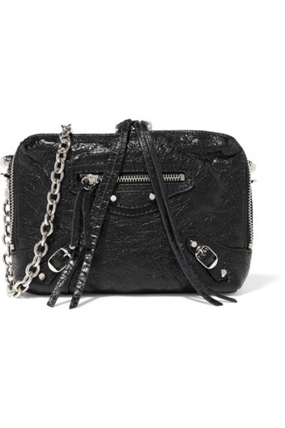 Balenciaga classic bag shoulder bag leather black