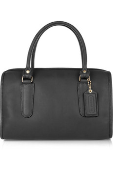 madison small leather tote