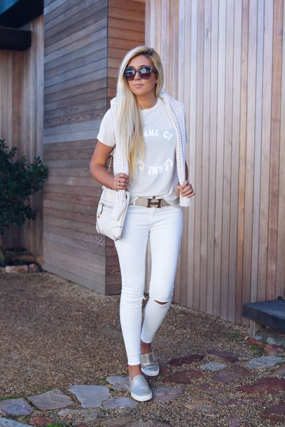 White Pants Girls