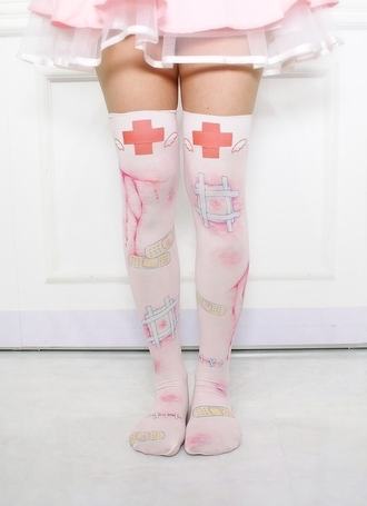 Baby Pink Knee High Socks Shop for Baby Pink Knee High