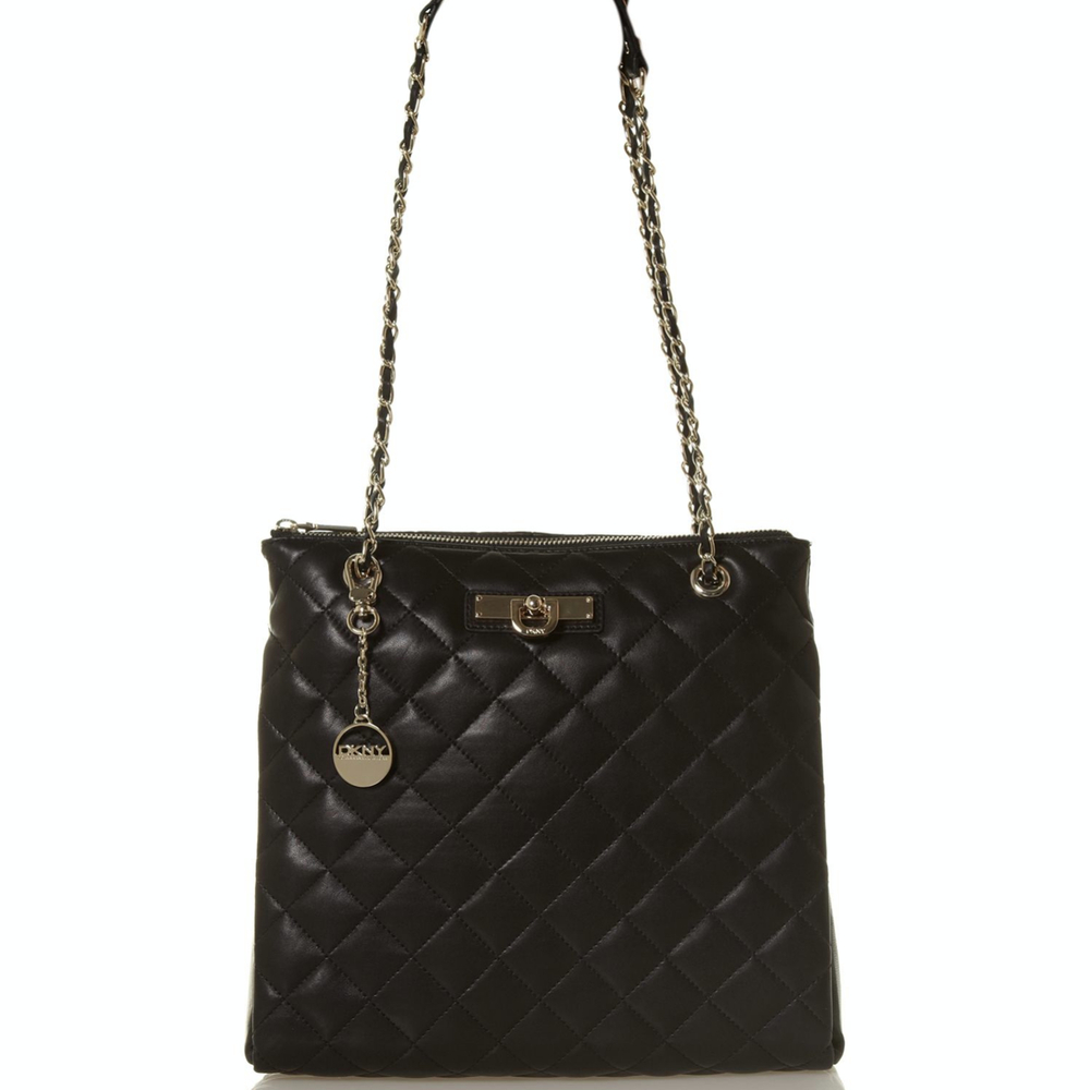 DKNY Nappa Quilted Leather Purse TheFashionMRKT