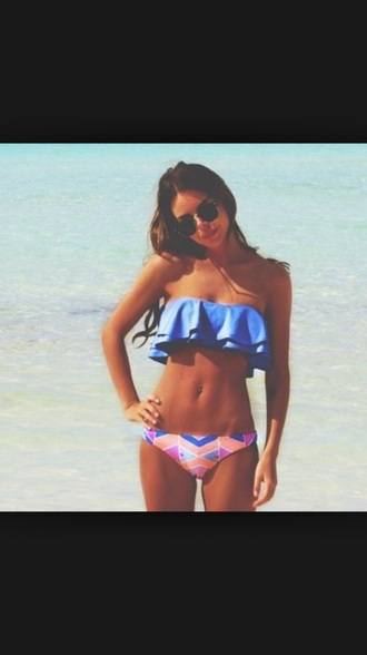 swimwear blue swimwear pink swimwear bandeau orange swimwear bohemian summer