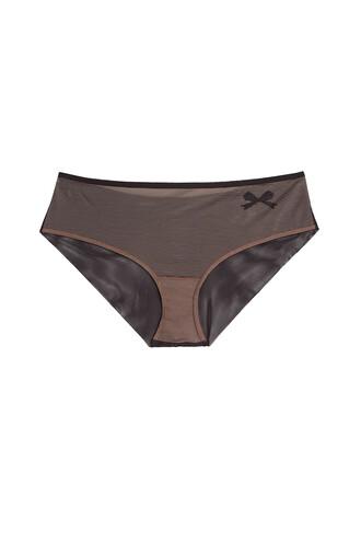 bow black underwear